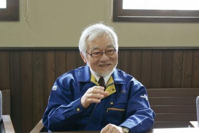 国稀酒造の千田製造部長