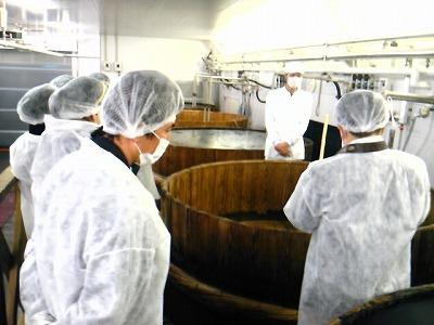 佐藤水産魚醤工場見学