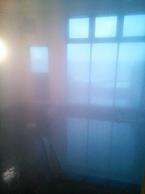 モッタ海岸温泉の風呂場