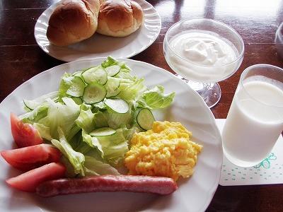 ファームイン・トント朝食