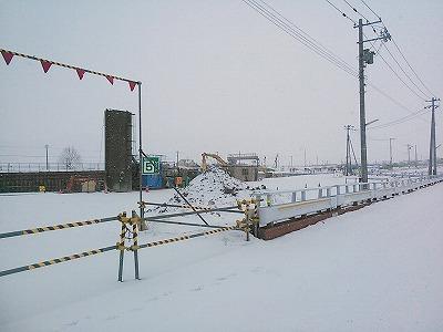 新函館駅建設予定地