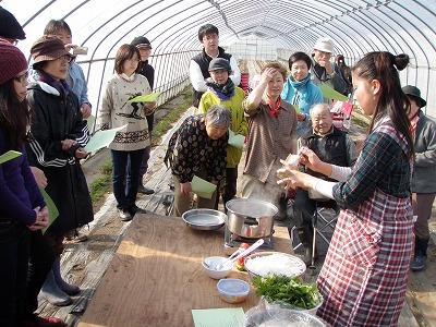 大塚早苗さんちゃんこ鍋教室