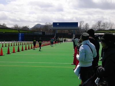 「豊平川マラソン」10kmゴール