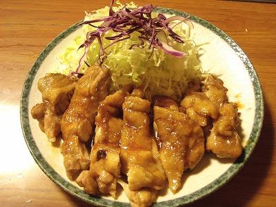 レストランささき「チキン照り焼き」