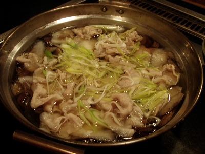 白老「河庄」キノコ鍋