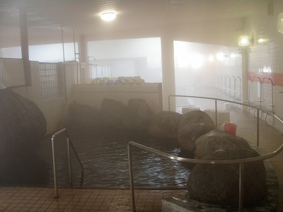 白老温泉ホテル浴室