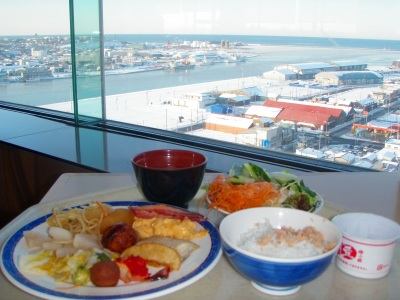 釧路プリンスホテル朝食
