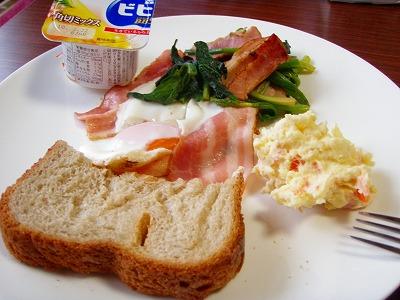 川島さん朝食プレート