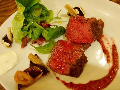 バルコエゾシカ肉のロースト