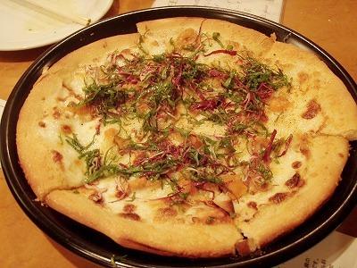 広尾うにピザ