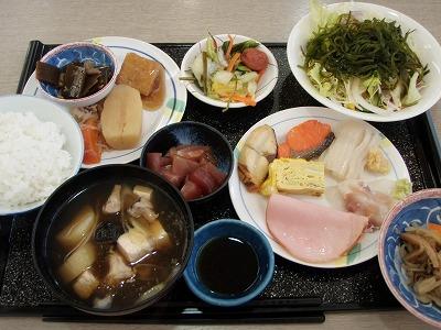 ひろめ荘朝食