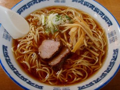 「みづの」の生姜ラーメン