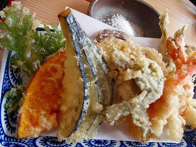 塩屋天ぷら盛り合わせ