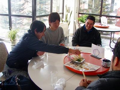 アイリスななかまどでワカサギ天ぷらを食べる!