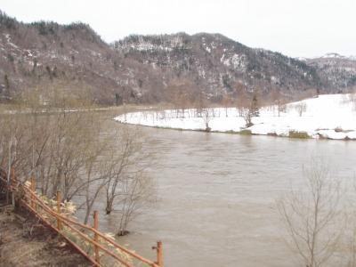 2012年春の天塩川