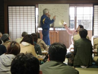国稀千田部長の講義