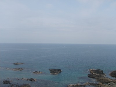 海のふるさと館からの海!