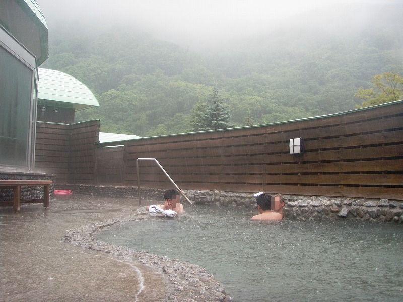 浜益温泉露天風呂