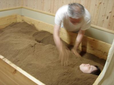 しずお農場米ぬか酵素風呂