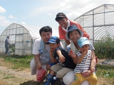 20110807大塚ふぁーむ体験ファミリー