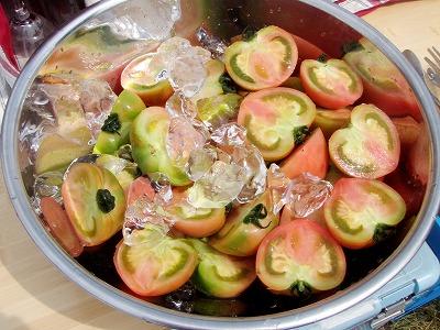 20110807デザート冷やしトマト