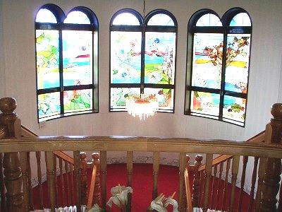 滝川市民会館ステンドグラス
