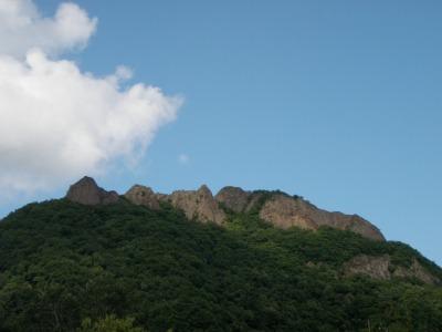 青空の八剣山