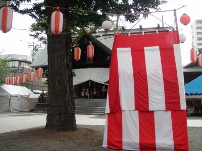 北海道神宮頓宮盆踊りステージ