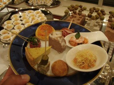ミクニサッポロお料理の皿