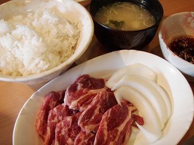 伊藤ジンギスカン特上定食