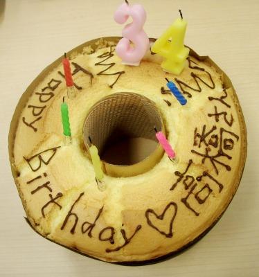 2011高橋くん誕生日ケーキ
