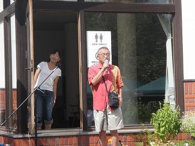 WESSの小島社長と柏崎さん