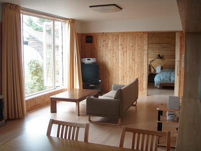 りくべつちょっと暮らし体験住宅リビング