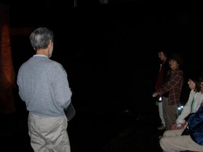 アトリエ3モア 暗い展示室