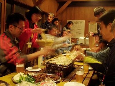 チャンチャン焼き&ジンギスカンパーティー1