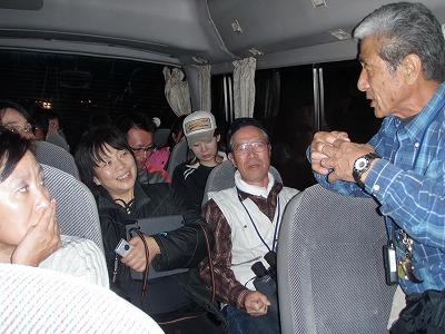 ライトセンサスバス中高木さん説明