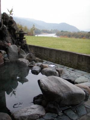 天塩川温泉露天風呂