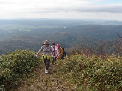パンケ山最後の登り