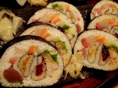 奴寿司の太巻き