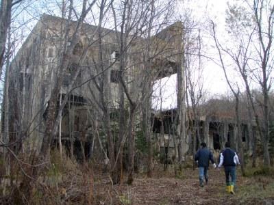 羽幌炭鉱ガイドウォーキング1