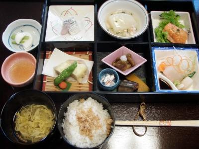 日本料理わたなべのランチ