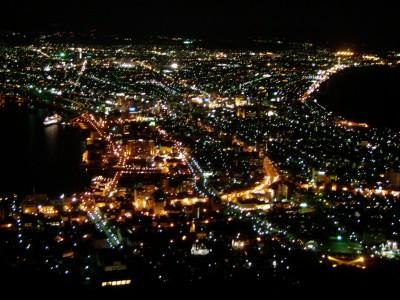 函館山夜景2011年11月