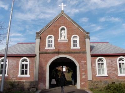 トラピスト修道院玄関