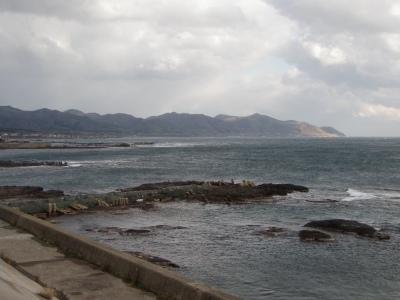 熊石の日本海!