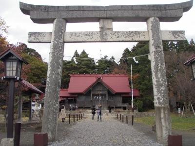 松前神社に久し振りに参拝!