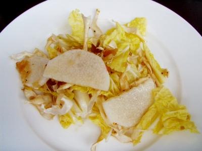季璃香の冬野菜のサラダ!