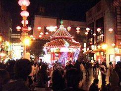 神戸中華街広場