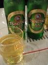 青島ビール!