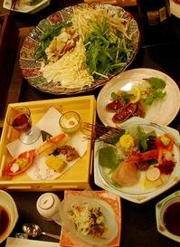 宏楽園夕食1