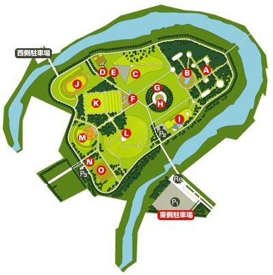 モエレ沼公園MAP